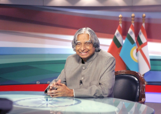 President Dr. APJ Abdul Kalam addressed the Nation on the eve of his demitting the office of the President of India from Rashtrapati Bhavan on July 24, 2007. RB Photo